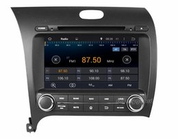 """Wholesale Dvd For Kia Forte - Quad-Core 1024*600 Android 4.4 HD 2 din 8"""" Car Radio Car DVD GPS for Kia CERATO  K3  FORTE 2013 With 3G WIFI Bluetooth IPOD TV USB AUX IN"""