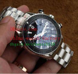 Wholesale Swiss Eta Watches - Luxury Watches Mens Watch Stainless Steel Co-Axial Swiss ETA 7750 Movement Automatic Man Watches Wristwatch