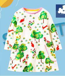 Wholesale Metallic Costume Dress - Fashion dress girls costumes 2018 baby girls spring auturmn dresses kids cotton dresses for girls clothes