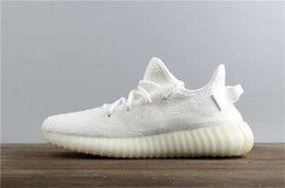 Wholesale Fishing Flats Boots - Cp9366 V2 All White 350 Sply V2 Replica Boost 350 V2 Boost Kanye West boost Running shoe Triple White Outdoor Sneakers For Men