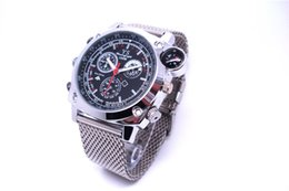 Wholesale Spy Watch Compass - MINI Camcorder Built in 8GB 1080P DV DVR SPY Watch Camera Wrist Watch Camera Digital Video Recorder YS Compass