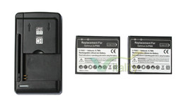 Wholesale Optimus 3d Battery - 2x 1800mAh FL-53HN Replacement Battery + Universal Charger For LG Optimus 2X 3D SU660  S P920 P993 P990 P999 Thrill 4G G2x C729 P925 SU760