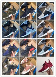 Wholesale Plastic Ducks - 2017 Cheap New NMD XR1 Boost Duck Camo Navy White Army Green for Top quality MND Men Women Kids Casual Shoes Drop Free Shipping size 36-45