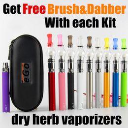 Wholesale Ego T Oils - EGO Glass Globe Dab vape pen ego wee vaporizer dry herb Wax Vaporizer Pen electronic cigarette EGO-T oil vaporizer pen starter kits