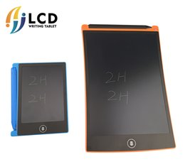 Wholesale One Touch Mini - Wholesale mini smart 4.4 LCD Graphics Drawing Pen Tablet Mini Writing Tablet Writing Board-one touch clear LCD ewriter Educational Tablets