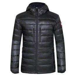 Wholesale Parka 3xl - 2018 High Quality CANADA New Winter men's Down puffer jacket Casual Brand Hoodies Down Parkas Warm Ski Mens Coats 200