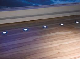 Dim 9mm Ultra İnce Paslanmaz Çelik LED Güverte Işıkları Yuvarlak DC12V Açık Bahçe Yolu Tekne Yard için 0.5 W LED Spot Zemin Işık Aydınlatma nereden rohs tekne lambaları tedarikçiler