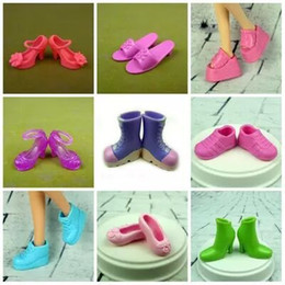 Wholesale China Sneakers Shoes Wholesale - Wholesale-China Doll Kurhn fashion high quality Kurhn pretty shoes flat heel boots Girl toy birthday gift High-heeled shoes sneakers