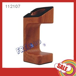 Wholesale Apple Keeper - Wholesale-High end Wooden Charging Stand holder Bracket keeper Charging Stand for Apple iwatch with retail packaging