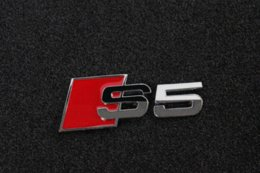 Wholesale Audi Metal Stickers - Auto Car S5 Badge Emblem 3D Metal chrome Sticker Fit For Audi & Sline S line car styling free shipping