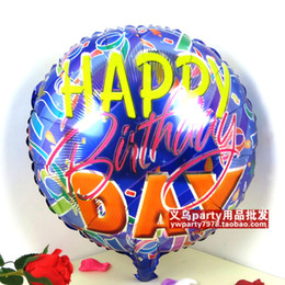 Wholesale Mix Foil Balloon - 45cm foil balloon holiday decoration birthday balloon 30pcs lot mix free shipping