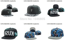 Wholesale Rock Cap Hat - 2015 New Arrival Cayler&Sons Snapback Hats Discount Hip Hop Baseball Caps Cheap Street Rock Sport Headwears