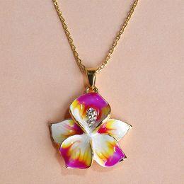 Wholesale Joyas Jade - Joias Ouro 18K Gold Jewelry Sets Earring Ring Enamel Epoxy Esmaltes Brand Bijuterias Flowers Joyas Wedding Accessories Wholesale