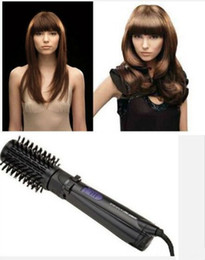 Wholesale Hot Air Brushes - Ifiniti Pro Hot Air Spin Hair Styler Spin Air Brush Ceramic Hair Brushes Electric 2 Inch Rotating Hair Styling Tools Comb