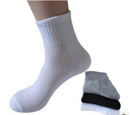 Wholesale Wholesale Clothes For Men - mens socks Long Cotton Socks Male Spring Summer Soild Mesh Socks for all size clothing accessories for male free shipping