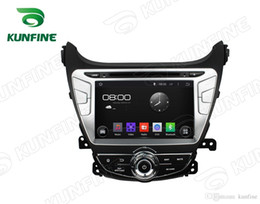 2020 wifi hd video mp3 mp4 player Quad core 1024 * 600 pantalla HD Reproductor de navegación GPS con DVD para automóvil 5.1 para HYUNDAI Elantra 2014 Bluetooth Wifi / 3G Control del volante wifi hd video mp3 mp4 player baratos