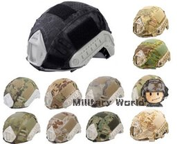 Wholesale Emerson Helmet Cover - Emerson Paintball Wargame Army Airsoft Tactical Military Helmet Cover For Fast Helmet Vover BJ PJ MH Multicam Typhon Camo** order<$18no trac