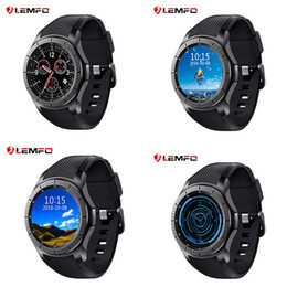 Wholesale Gear Watch Phone - LEMFO LF16 Android 5.1 OS Smart Watch 3G WIFI MTK6580 512MB+8GB Wristwatch Smartwatch for Android IOS Gear S3 Phone