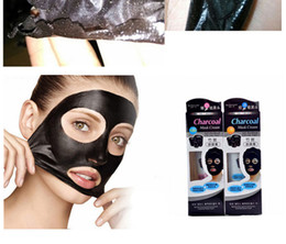 Wholesale Bamboo Charcoal Whitening Nose Mask Nose Pores Blackhead Pore Oil control Repairing Face Mask For Skin Care