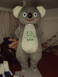 Wholesale Mascot Animal Costume Koala - Factory Outlets Hot Sale cute Koala baby Halloween Fancy Dress Cartoon Adult Animal Mascot Costume free shipping