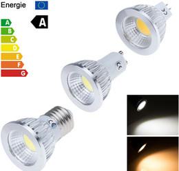 Wholesale Led E27 6w 12v - High quality Cree COB 6W 9W 12W GU10 E27 E26 MR16 GU5.3 Dimmable Led bulb Spotlights Lamp 120 Angle Led Bulb Warm Cool White AC 110-240V 12V