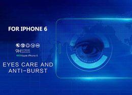 Wholesale Apple Care - anti blue Eye Care 9H 2.5D anti UV anti blue light Tempered Glass Screen Protector for iphjone 6 6 plus