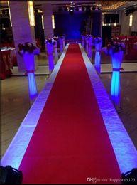 Wholesale Cake Supplies Ring - New Wedding Carpet 1.5m Width* 25 m roll Non-woven Carpet Aisle Runner Wedding Backdrop Centerpieces T Station Venue Decoration Supplies