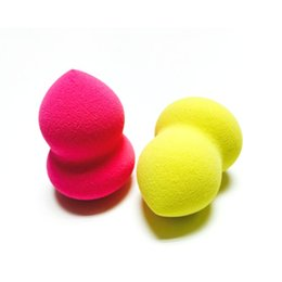 Wholesale Makeup Applicator Powder Puff - Bottle Gourd Sponge Powder Puff Makeup Foundation Sponge Blender Blending Puff Flawless Powder Beauty Flawless Smooth Applicators Tool