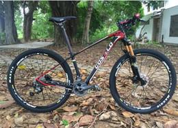 Wholesale 26 Inch Mountain Bike Wheels - carbon Bicylce Mountain Bike Ultralight 27.5 MTB Frame costelo bicycle MTB Frame M4000 groups wheels saddle bar tire