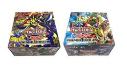 Vendita calda ~! 288 pezzi / lotto Yugioh Flash Cards Schede per bambini Giocattoli di gioco Versione inglese Ragazzi Ragazze Yu Gi Oh Giochi Collezione di carte Regalo di Natale da carte yugioh inglese fornitori