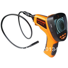 "Wholesale Motorcycles Images - Wholesale-SB-IE99E-5.5mm-3M 2pcs*motorcycle garage china 3.5""LCD recordable snake borescope camera zoom in out image 5times with 4pcs"