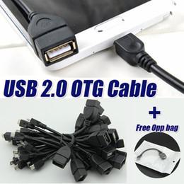 Standart Konak kadın USB erkek Mikro USB 2.0 OTG Kablosu kablosu adaptörü için Samsung Xiaomi Android Telefon için flashdrive nereden