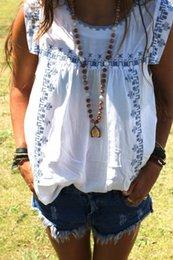 Wholesale Sleeveless T Shirt Women - summer style women's t shirt NEW FASHION 2015 HOT SALE Casual Print t shirt women O-Neck Sleeveless FG1511