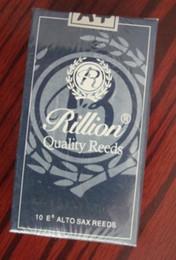 Wholesale Reeds For Sax - Alto SAX Rillion Soprano Saxophone #2 1 2 Reeds