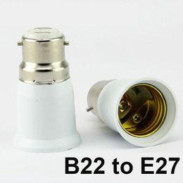 Wholesale E14 B22 Adapter - LED Bulb Base Adapter Socket Converter E22 to E27 E26 to E14 E26 to E27 B22 to E26 Converter Plug Extend for LED Halogen CFL Light