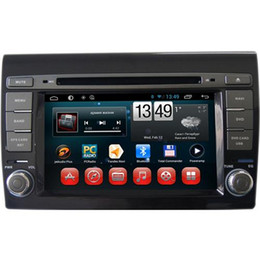 Wholesale Dvd Fiat Bravo - Best Android Car DVD Players Built In Bluetooth Car DVD Players Fit for FIAT BRAVO 7 Inch Screen 1.6GHz Dual Core Sale 7030A