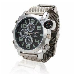 Wholesale Spy Watch Compass - 2016 16GB 1080P HD Compass Camera Watch Waterproof Spy Camera USB DVR mini watch hidden Camera