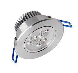 Wholesale Fedex White Spot - LED Ceiling Downlight 9W 85V-265V Epistar LED Ceiling Lamp Recessed Spot Light for Home illumination Free by DHL FEDEX