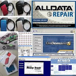 Wholesale Isuzu Truck Repair - Auto repair software alldata mitchell on demand alldata 10.53 + heavy truck+2015 atsg+tis2000 etc 49 software in 1tb hdd usb3.0
