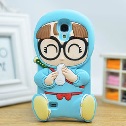 Wholesale Sumsung Galaxy S4 Cases - For sumsung galaxy s4 Fashion cute 3D Cartoon pacifier silicone soft case For Samsung Galaxy S4 I9500 free shopping