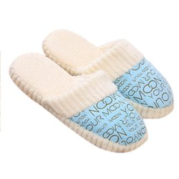 Wholesale Ladies Canvas Shoes Wholesale - Wholesale- pantuflas mujer 2016 Hot Selling Women Ladies Home Floor Soft Slippers Female Cotton-padded Shoes home slippers pantoufle femme