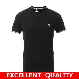 Wholesale Cute Cotton T Shirts - Top quality Men's funny tee cute t shirts Brand LOGO Embroidery men short sleeves cotton tops cool tshirt summer jersey costume t-shirt