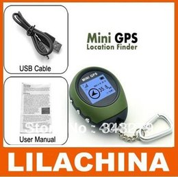 Wholesale Camping Gps - Wholesale Promoting 1.5 inch Multifunctional Handheld Mini GPS Tracker for Camping Hiking Climbing