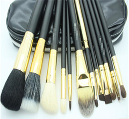 Wholesale Makeup Brushes 12 Pieces - 2015 New Women HOT Makeup Brushes 12 pieces Professional Makeup Brush set Kit Makeup Brushes N1688A