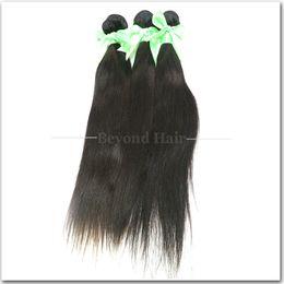 Wholesale Virgin Peruvian Grade 5a 4pcs - 5A Grade wholesale 4pcs lot High Quality Brazilian Virgin hair 100% Human Hair Extensions straight human hair weave
