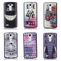 Wholesale For LG G3 g4 Color Painting back cover Hard case Customized Print Skin for LG optimus G3 G3 mini Various Pattens In Stock