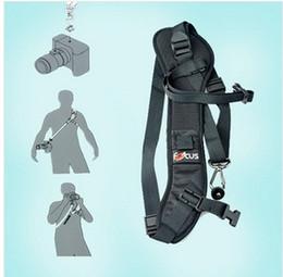 2019 schnelle schlinge kamera Fokus F-1 Quick Rapid Schulterriemen Gürtel Umhängeband Für Kamera SLR DSLR Schwarz rabatt schnelle schlinge kamera