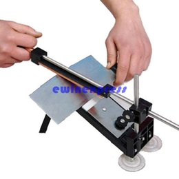 Wholesale Knife Sharpener Kit - Professional knife sharpener knife sharper sharpening stones system kit Fixed-angle sharpening stones for knives kitchen tools