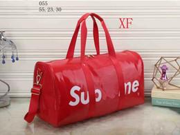 Wholesale Famous Message - Fashion women message bag lady PU leather handbag famous Designer brand bags purse shoulder tote Bag female black red 2 color