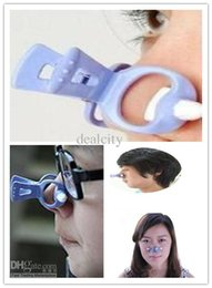 Wholesale Make Nose Beautiful - Free Shipping New Hot Beautiful Nose Up Nose Lifting Clip For making nose higher more beautiful perfect face best Nose Shaping Clip Q506